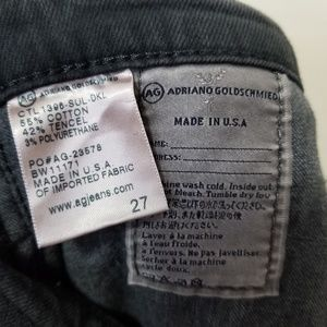 Ag Adriano Goldschmied Jeans - Adriano goldschmeid the Farrah skinny hi rise jean